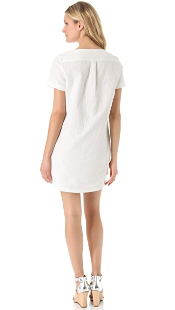 Rebecca Minkoff Seattle Quilted Lace Up Dress