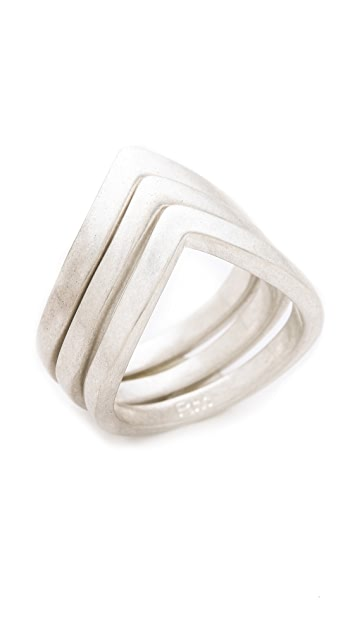 Rebecca Minkoff V Stackable Rings