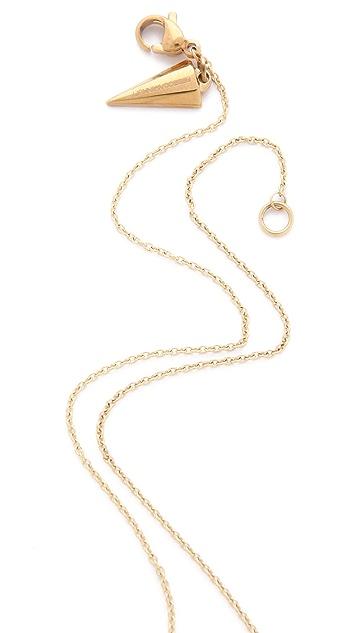 Rebecca Minkoff Hexagon Solitaire Necklace