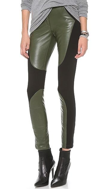 Rebecca Minkoff Telescope Leather Pants