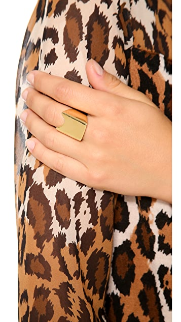 Rebecca Minkoff Rectangular Signet Ring