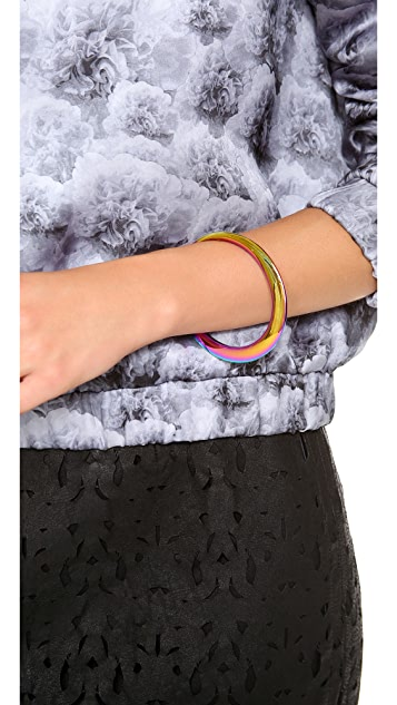 Rebecca Minkoff Irregular Bangle Bracelet
