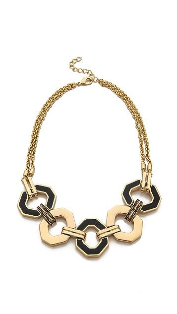 Rebecca Minkoff Pave Link Necklace