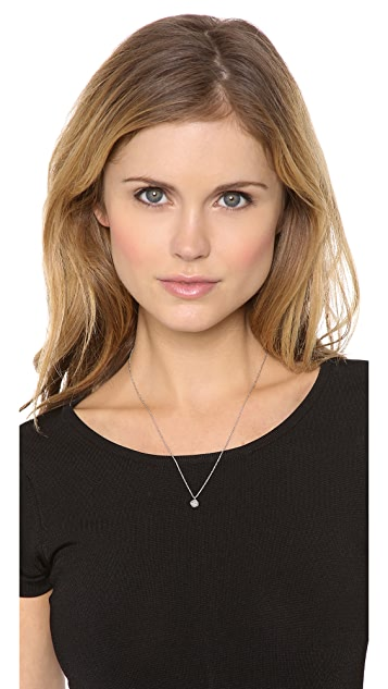 Rebecca Minkoff Mini Pave Pyramid Necklace