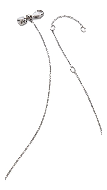 Rebecca Minkoff Key Pave Necklace