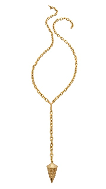 Rebecca Minkoff Curbs Y Drop Necklace