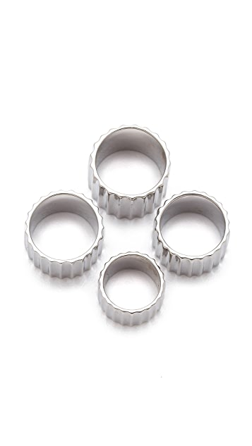 Rebecca Minkoff Four Finger Ring