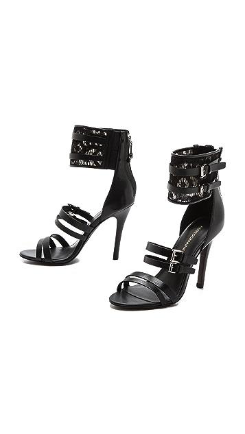 Rebecca Minkoff Miller Ankle Cuff Sandals