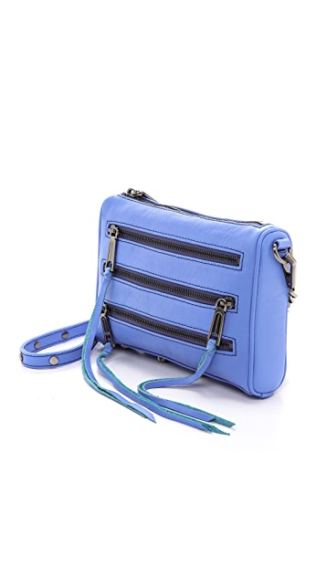 Rebecca Minkoff Mini 5 Zip Cross Body Bag
