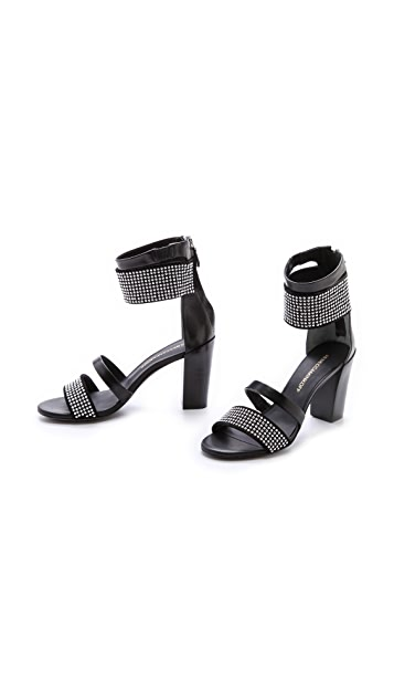 Rebecca Minkoff Shawn Studded Ankle Band Sandals