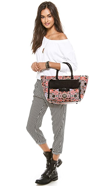 Rebecca Minkoff Leo Tote with Removable Clutch