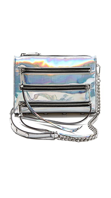 Rebecca Minkoff Mini 5-Zip Bag