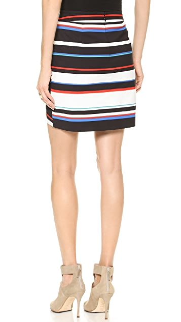 Rebecca Minkoff Camilla Striped Skirt