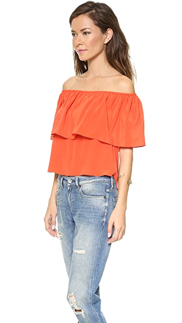 Rebecca Minkoff Dev Off the Shoulder Top
