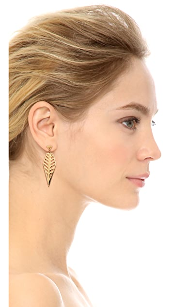 Rebecca Minkoff Open Blade Drop Earrings