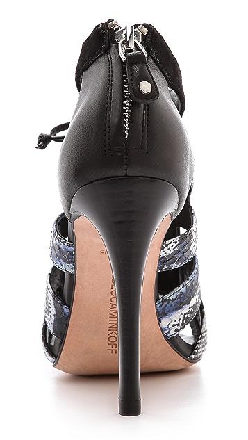 Rebecca Minkoff Reed Cutout Sandals