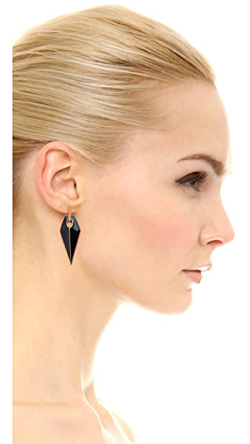 Rebecca Minkoff Blades Statement Earrings