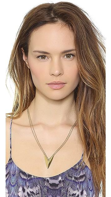 Rebecca Minkoff V Necklace