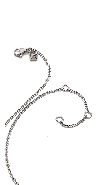 Rebecca Minkoff V Long Pendant Necklace
