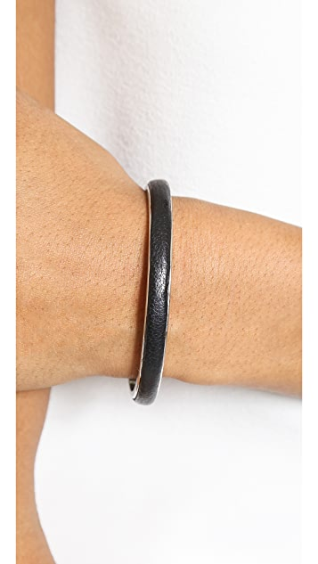 Rebecca Minkoff Dog Clip Bangle Bracelet