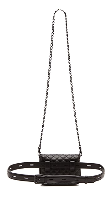 Rebecca Minkoff Quilted Affair Fanny Bag