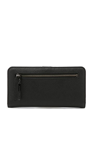Rebecca Minkoff Continental Single Snap Wallet