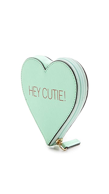Rebecca Minkoff Hey Cutie Heart Pouch