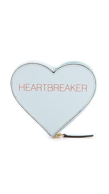 Rebecca Minkoff Сумочка с надписью «Heartbreaker»