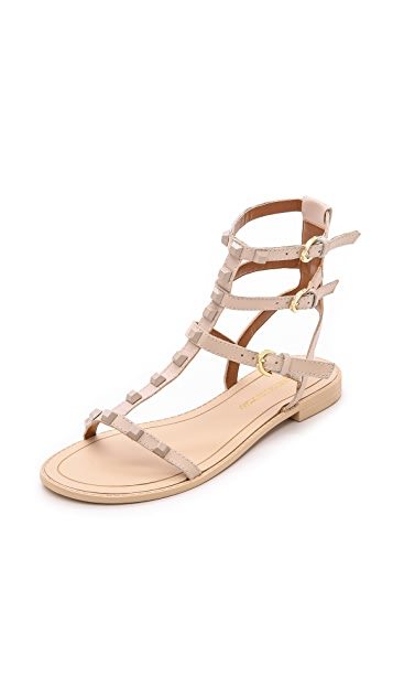 f30daf0d89ad Rebecca Minkoff Georgina Studded Sandals