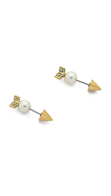 Rebecca Minkoff Arrow Earrings