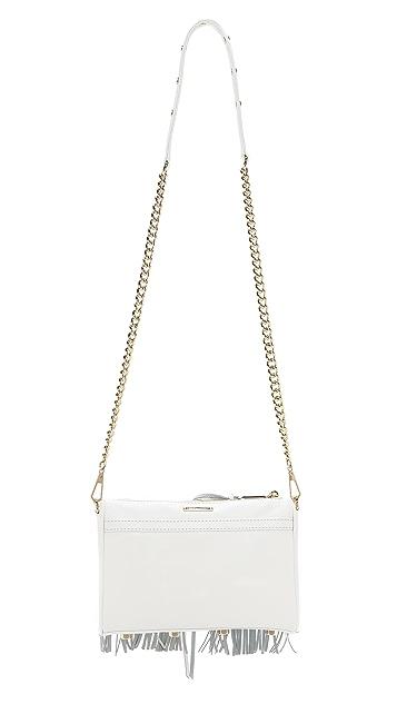 Rebecca Minkoff Mini MAC Fringe Cross Body Bag