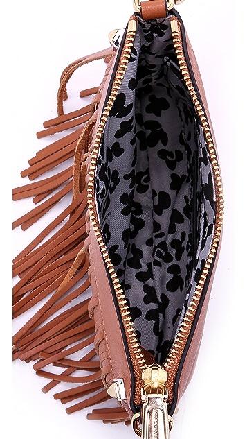 Rebecca Minkoff Mini Fringe Cross Body Bag