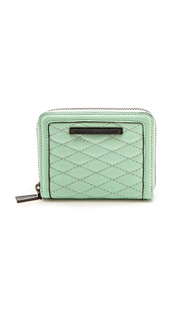 Rebecca Minkoff Quilted Mini Ava Zip Wallet