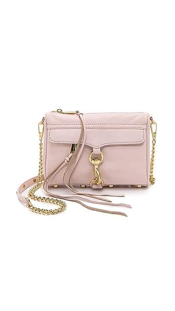 Rebecca Minkoff Mini MAC Bag with Pale Gold Hardware