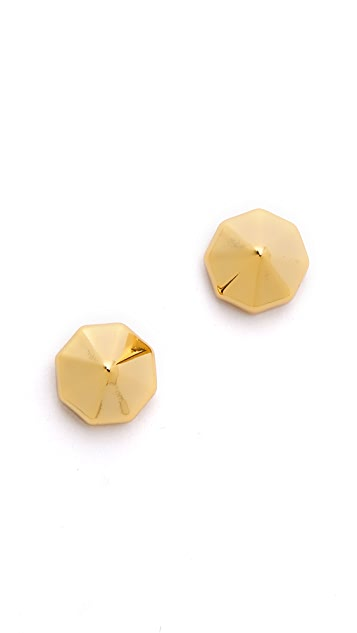 Rebecca Minkoff Pyramid Stud Earrings