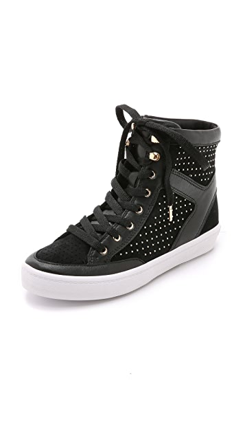 Rebecca Minkoff Smith Studded High Top Sneakers