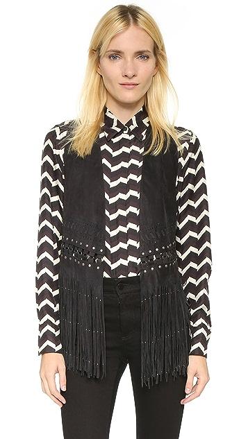 Rebecca Minkoff Blondie Fringe Vest