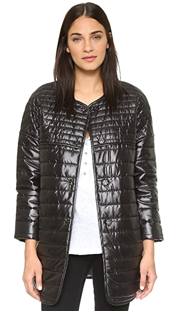 Rebecca Minkoff RM Active Crystal Puffer Coat