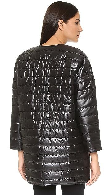 Rebecca Minkoff RM Active Crystal Puffer Coat