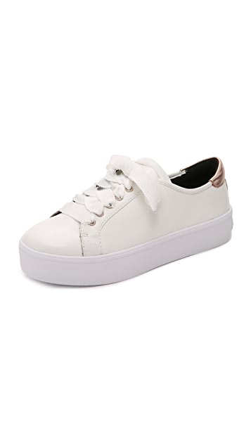 Sneakers for Women On Sale, White, Leather, 2017, 3.5 4.5 5.5 6.5 7.5 Rebecca Minkoff