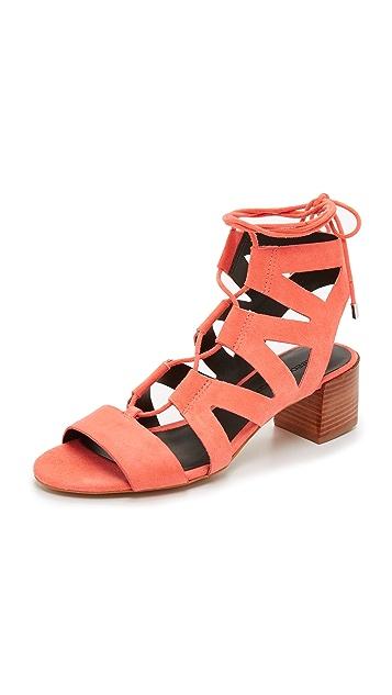 404809844ad4 Rebecca Minkoff Issa Gladiator Sandals