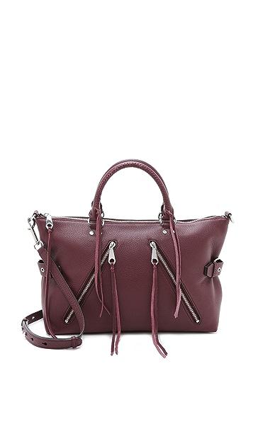 Rebecca Minkoff Большая байкерская сумка-портфель