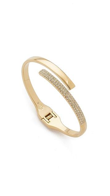 Rebecca Minkoff Pave Hinge Bracelet