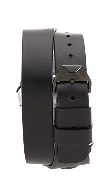 Rebecca Minkoff Studded Leather 38mm Apple Watch Band