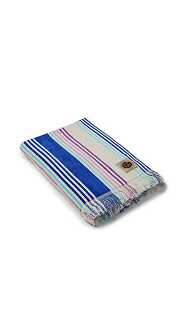 Ruby Mint Cabana Towel