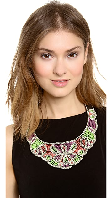 ROARKE new york Dakota Scalloped Necklace