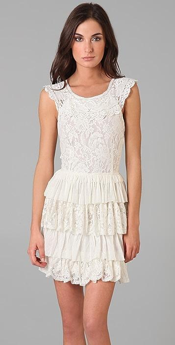 Robbi & Nikki Layered Lace Dress