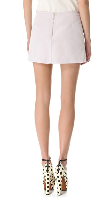 Rochas Lilac Mini Skirt