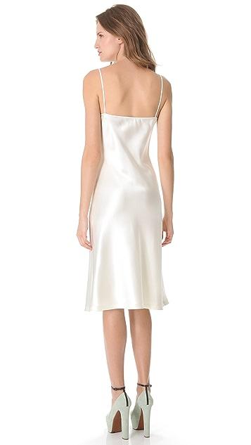 Rochas Silk Sleeveless Dress