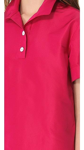 Rochas Short Sleeve Shirtdress